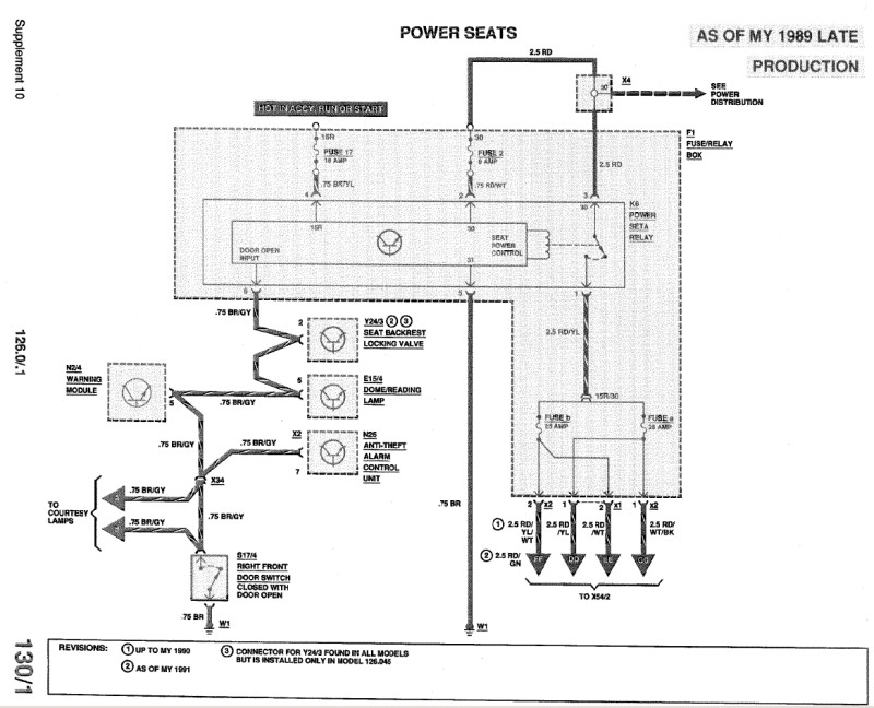 mercedes power seat wiring diagram   34 wiring diagram