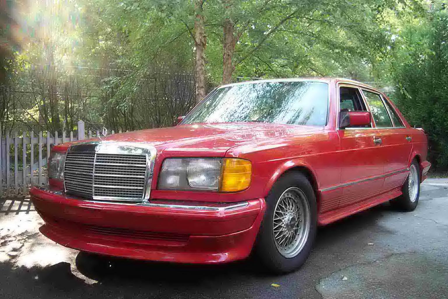 FS: 1984 500SEL w/AMG mods.