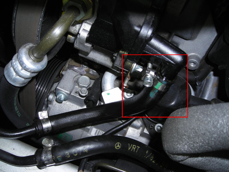 Power Steering Hose Leak Repair Mercedes Benz Forum