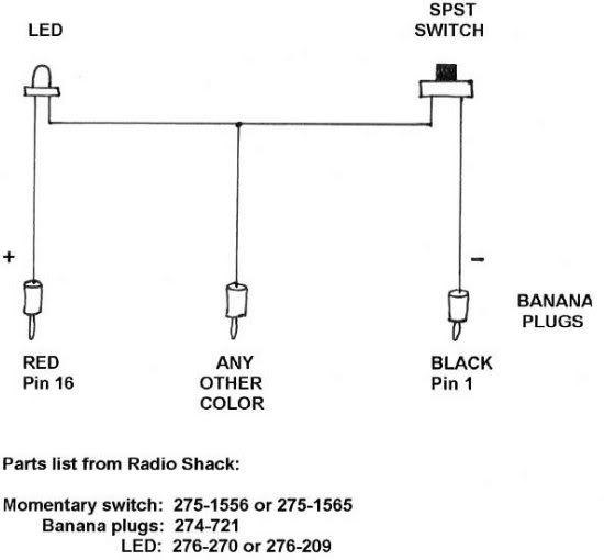 92 2 3 8v Diagnostic (fault code) help with LED tester - Mercedes
