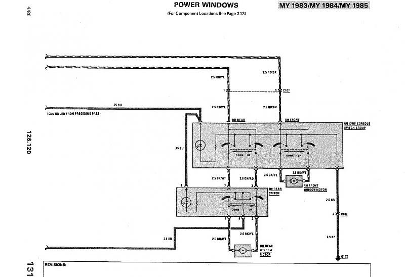 Schematic 5 Pin Power Window Switch Wiring Diagram from www.benzworld.org