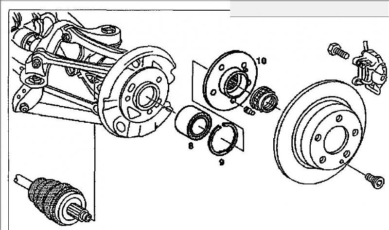 need diagram for front hub assembly mercedes benz forum : front wheel assembly diagram - findchart.co