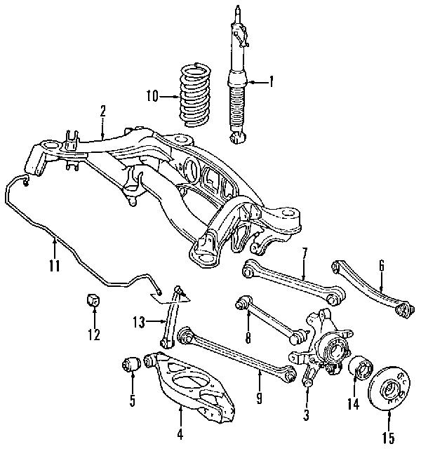 1995 Mercedesbenz E320 Base Rear Suspension Diagram - Last Wiring