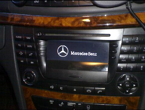 mercedes w211 audio 50 aps aux. Black Bedroom Furniture Sets. Home Design Ideas