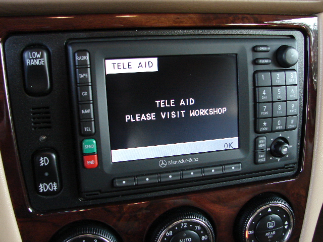 Tele Aid And Roadside Assistance Buttons Mercedes Benz Forum