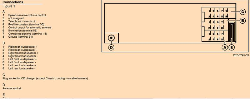 wiring diagram for rear door speakers facelift mercedes benz forum click image for larger version radio jpg views 360 size 26 1
