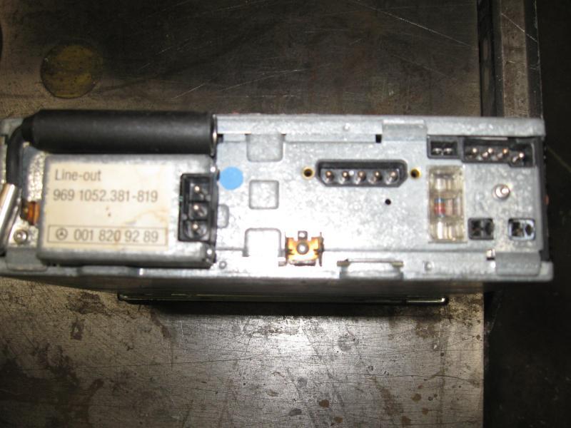 300sl radio wiring help - mercedes-benz forum radio wiring help