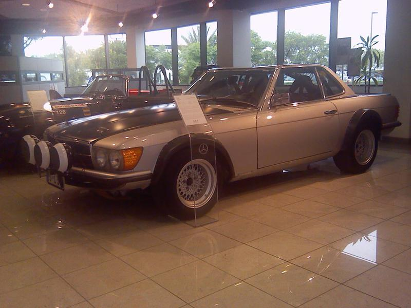 1980 500SL Rally car - Mercedes-Benz Forum