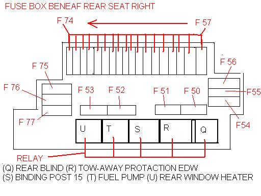 fuse chart page 2 mercedes benz forum rh benzworld org Mercedes C300 Fuse Guide Mercedes S500 Fuse Box Diagram