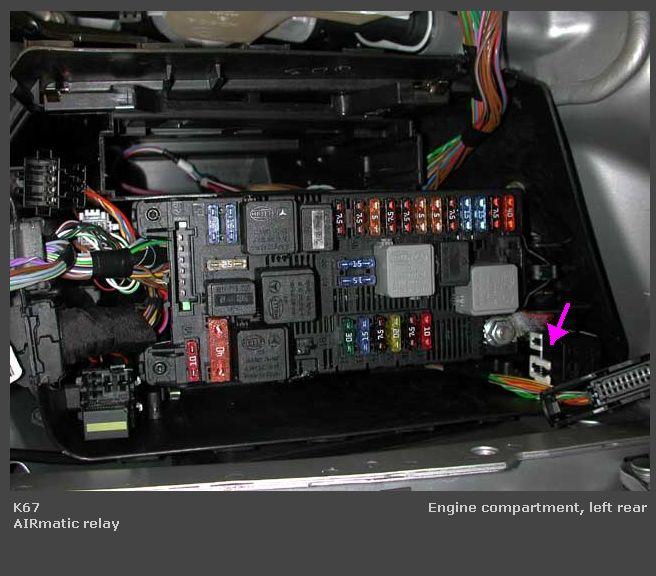 Wiring On Airmatic Compressor Mercedes Benz Forum