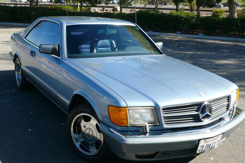 1987 mercedes 560sec from
