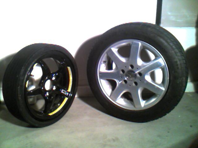 FS: SLK parts see pictures- HU,changer,speakers,brakes etc. Make me an offer!-rims.jpg