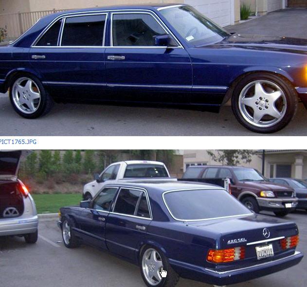1991 420 Sel Wheels Page 2 Mercedes Benz Forum