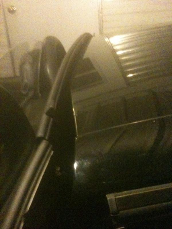 Convertible top hits rear deck when opening - Benzworld.org - Mercedes-Benz