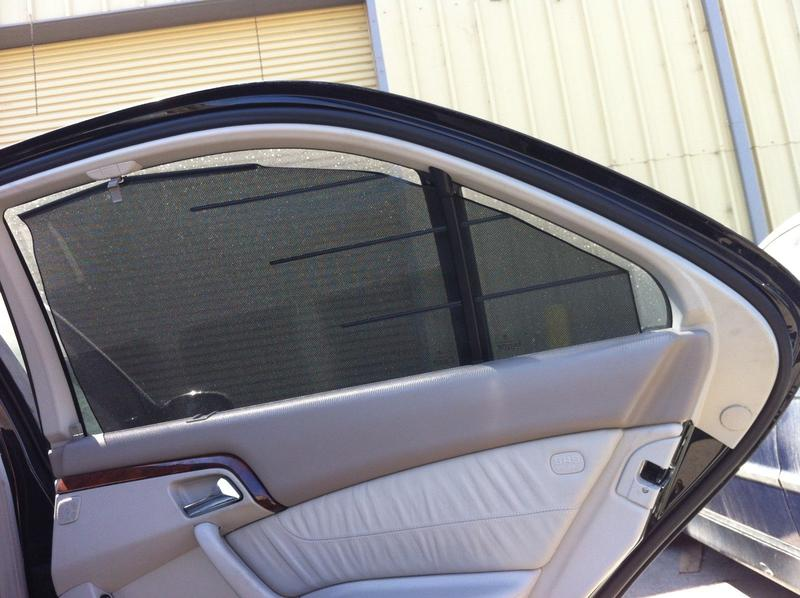 Need Help On Rear Side Window Shade Clips Mercedes Benz