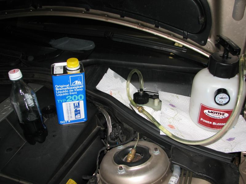 Diy Brake Fluid Flush Mercedes Benz Forum