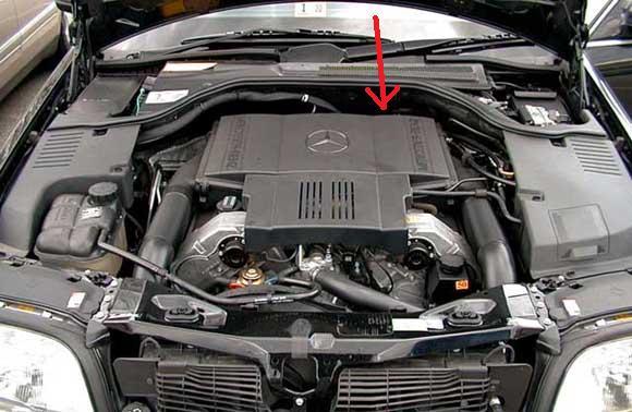 stone-marten has eaten my crankshaft sensor cable - Mercedes-Benz Forum