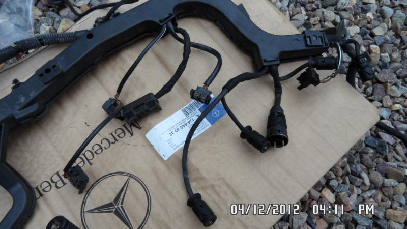 95 e300d wiring harness page 2 mercedes benz forum rh benzworld org Engine Wiring Harness Truck Wiring Harness