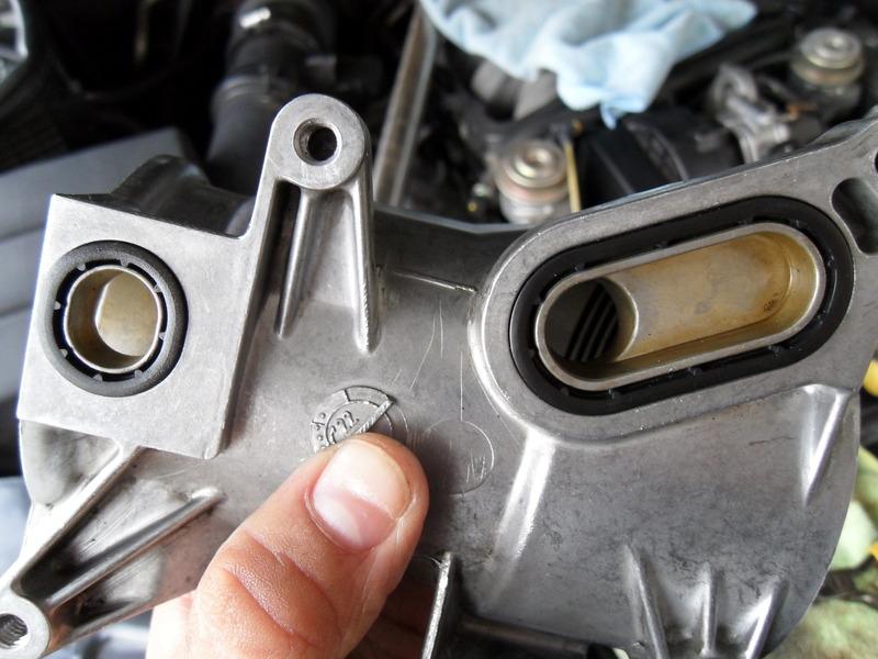 2002 Mercedes E320 >> Oil filter housing seal and Oil cooler seals DIY - Mercedes-Benz Forum