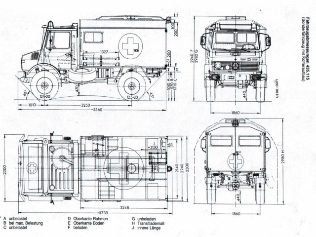 dimensions of various radio communication ambulance boxes mercedes rh benzworld org 2013 Mercedes Sprinter Ambulance Mercedes-Benz Ambulance T1