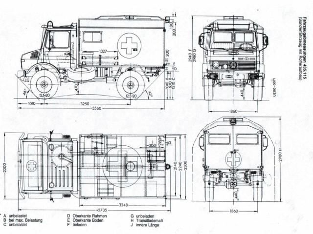 U1300L Bundeswehr Krankenwagen Build - Mercedes-Benz Forum
