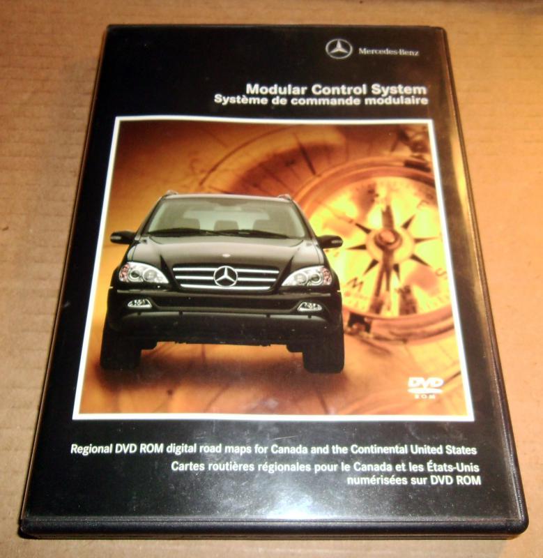 Original Mercedes Navtech Navigation Dvd W163 Ml320 Ml500