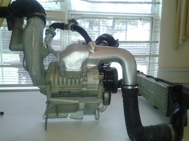D Fs C Slk Supercharger Intercooler Sc