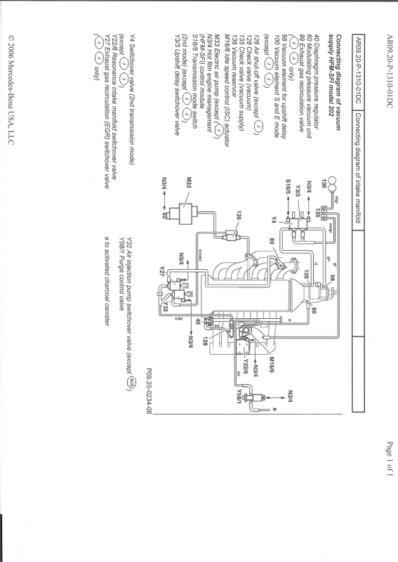1999 mercedes c230 engine diagram