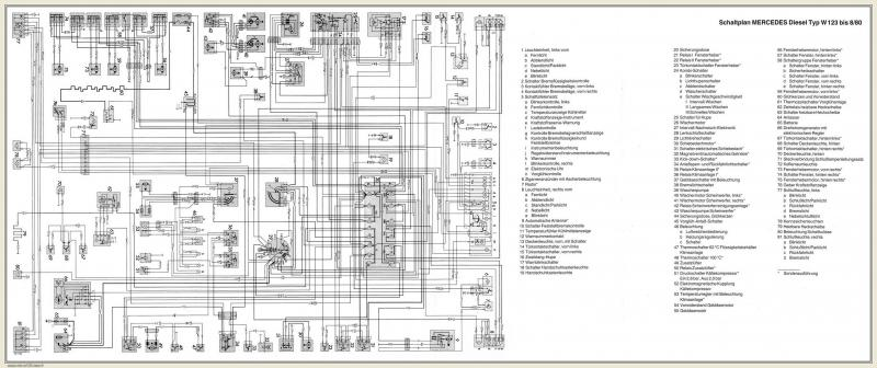 Electrical Diagram For -79 240d