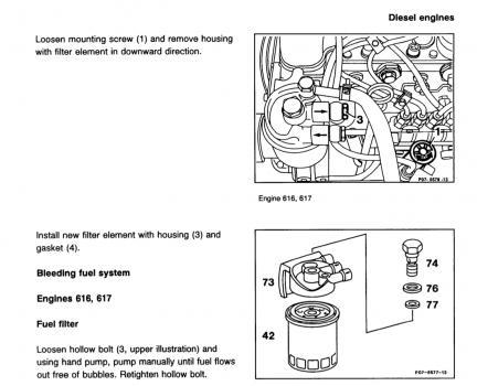 Fuel filter leak | Mercedes-Benz Forum
