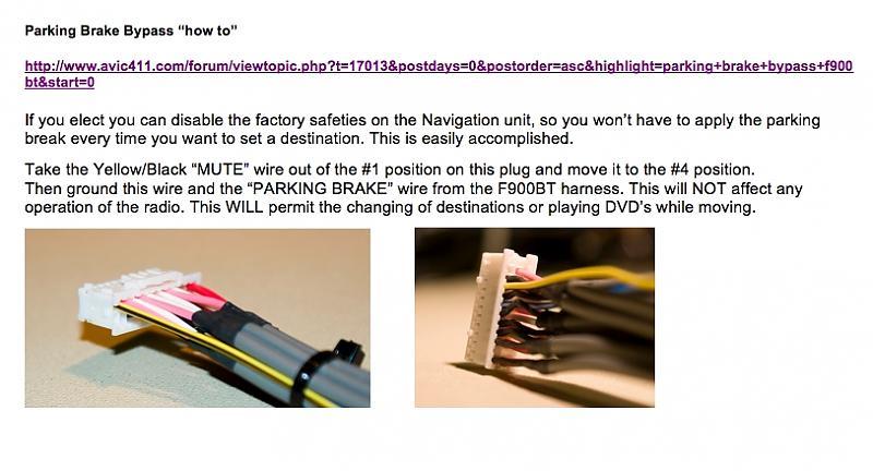 8/12/2014 DIY Install Pioneer AVIC F900BT in '03 Fiber Optic