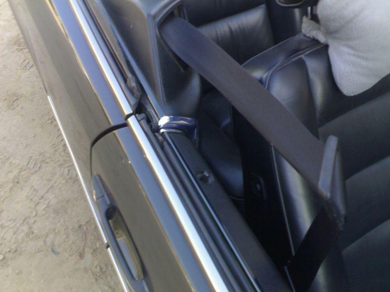 1995 Mercedes Benz E320 Convertible Seat Belt Guide