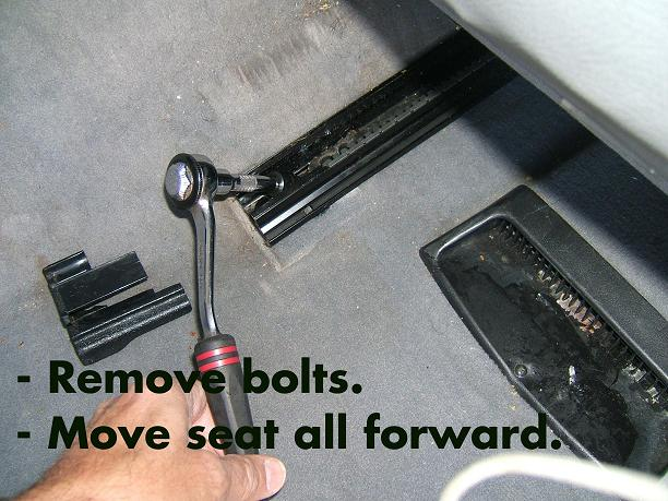 Photo diy srs seat sensor replacement mercedes benz forum for Mercedes benz driver seat replacement