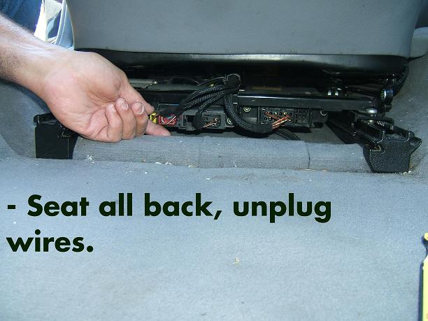 D Photo Diy Srs Seat Sensor Replacement Seat on Mercedes Seat Control Module