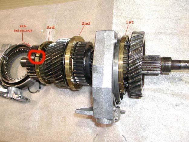 Dodge Ram Ecodiesel >> 240D manual transmission synchro (pics) - Mercedes-Benz Forum