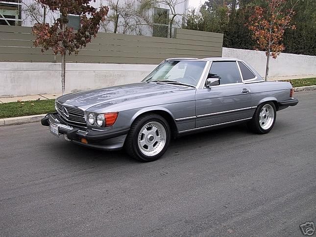 1987 Mercedes 560Sl >> Largest Tire and wheel size on 560SL? - Mercedes-Benz Forum