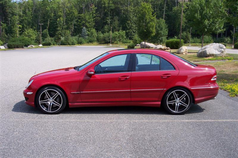 Benz Red Color >> Finallly... Pictures of my new summer wheels on the C230!!!! - Mercedes-Benz Forum