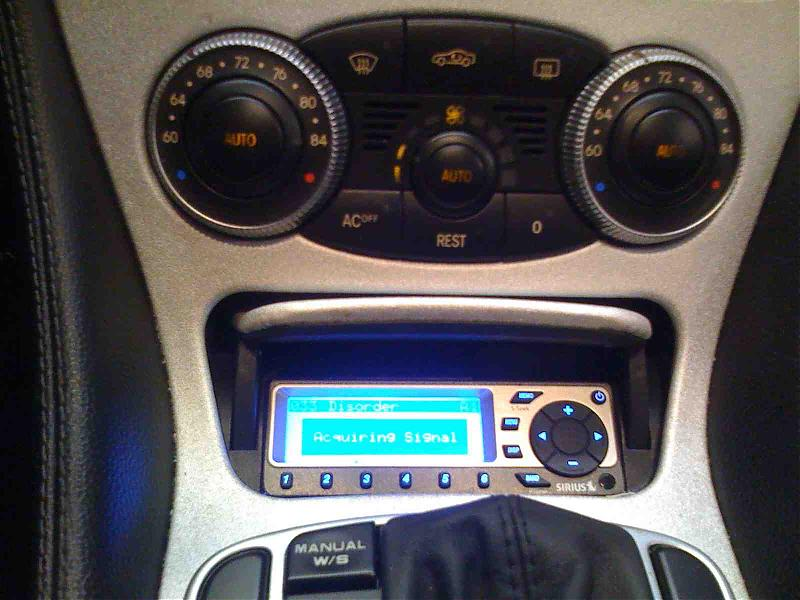 Sirrius sat radio 04 sl mercedes benz forum for Mercedes benz sirius radio
