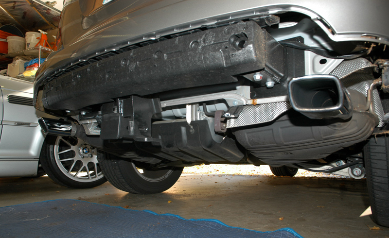 Front Amp Rear Skid Plate Installation On Ml350 Mercedes