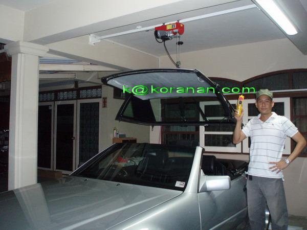 Diy Hardtop Hoist R129 Hard Top With One Man Amp One Hand