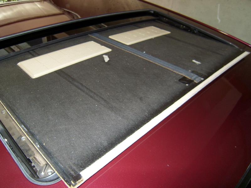 Photo Diy Removing Sunroof Liner Mercedes Benz Forum