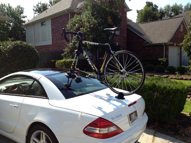 Bike racks mercedes benz forum for Mercedes benz bicycle rack