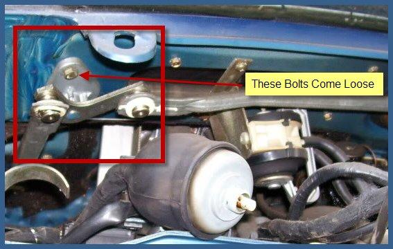 Wiper Linkage Pivot Surgery 2d Opinions Mercedes Benz