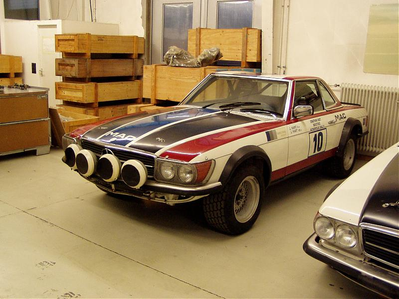 The missing factory 500SL Rally Cars - Page 4 - Mercedes-Benz Forum