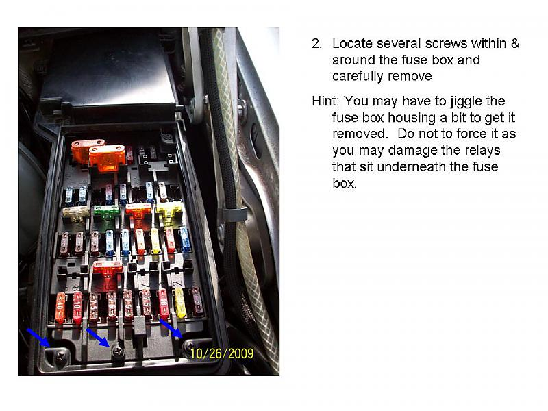Mercedes C200 W204 Fuse Box Location : Changing the multi function relay on a mb c