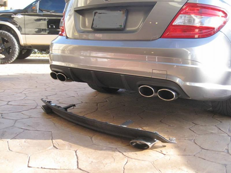 Amg Style Quad Exhaust Tips For Sale Mercedes Benz Forum