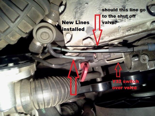 99    SLK       230    R170 Vacuum lines    diagram     MercedesBenz Forum