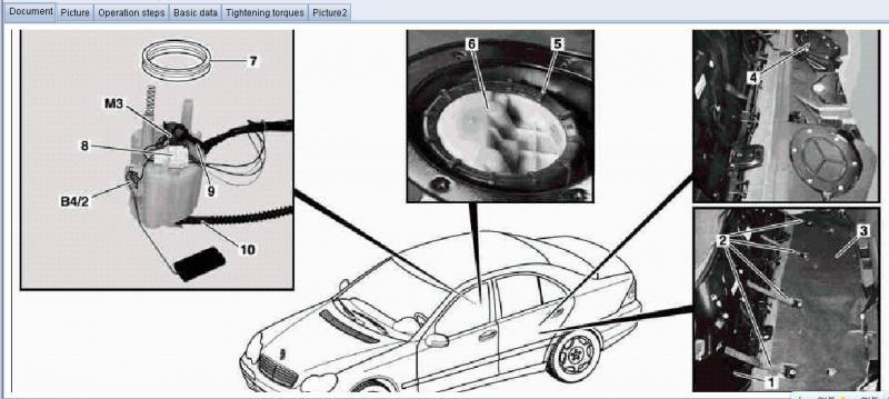 03 C230 1600 Fuel Pump Repair Mercedes Benz Forum