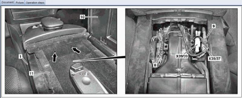 W221 Center console removal - Mercedes-Benz Forum
