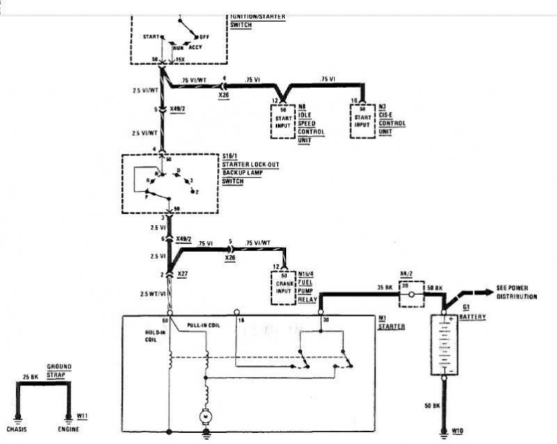 Chevy Starter Motor Wiring Diagram